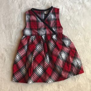 😍Osh Kosh 18 mo plaid dress 🎄